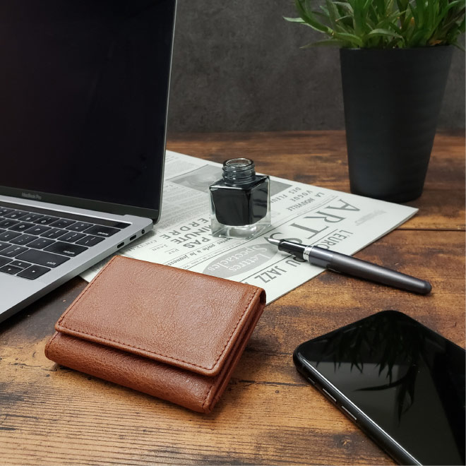 BECKER(ベッカー)極小財布 日本製