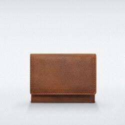 極小財布 ヒメジ 牛革 ブラウン ベーシック型小銭入れ BECKER(ベッカー)日本製