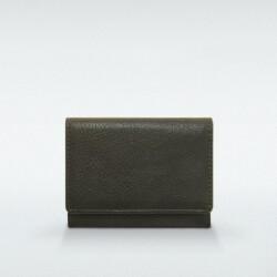 極小財布 ヒメジ 牛革 グリーン ベーシック型小銭入れ BECKER(ベッカー)日本製