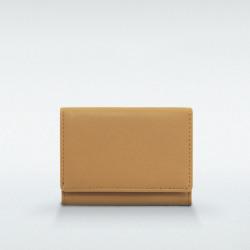 極小財布 BOX型小銭入れ マルケ 牛革 キャメル BECKER(ベッカー)日本製