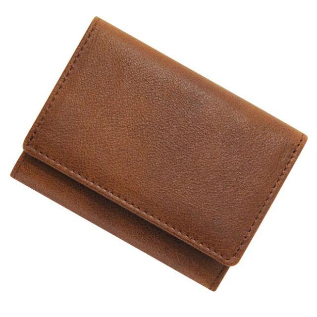 極小財布 ヒメジ 牛革 ブラウン ベーシック型小銭入れ BECKER(ベッカー)日本製 15,400円(税込)