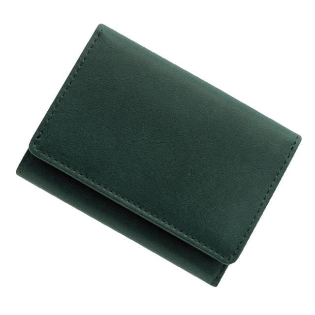 極小財布 栃木レザー/牛革 ネイビー ベーシック型小銭入れ  BECKER(ベッカー) 日本製 税込 \17,600