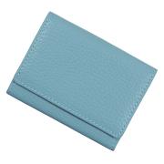 極小財布 ソフトシュリンク/ADRIA/牛革「ライトグレイッシュブルー」 BECKER(ベッカー)日本製