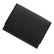 極小財布 カーボンフィルムレザー/牛革 ベーシック型小銭入れ BECKER(ベッカー)日本製