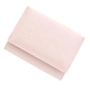 極小財布 シープスキンメタリック シャイニーオーロラピンク BECKER(ベッカー)日本製