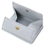 極小財布 ソフトシュリンク ライラック イタリアンレザー ボックス型小銭入れ \15,000(税込 \16,500)