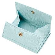 極小財布 BOX型 イタリアンレザー/ADRIA 『ミント』 BECKER(ベッカー)日本製 \16,500(税込)