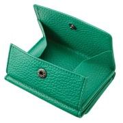 極小財布 BOX型 イタリアンレザー/ADRIA 『グリーン』 BECKER(ベッカー)日本製 \16,500(税込)