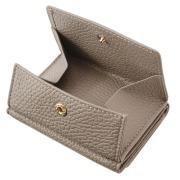 極小財布 BOX型 イタリアンレザー/ADRIA 『グレージュ』 BECKER(ベッカー)日本製 \16,500(税込)