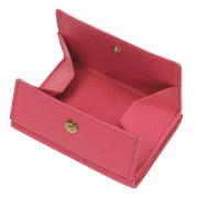 極小財布 ボックス型 イタリアンレザー/ADRIA ピンク BECKER(ベッカー)日本製 ミニ財布 本革財布 三つ折り財布