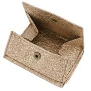 極小財布 BOX型小銭入れ グリッター ゴートスキン/山羊革 ゴールド BECKER(ベッカー) 日本製 \15,400(税込)
