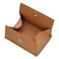 極小財布 ボックスカーフ(コニャック)ボックス型小銭入れ 仔牛革 BECKER(ベッカー)ドイツ製