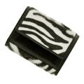 極小財布 ベビーカーフ(ゼブラ)ベーシック型小銭入れ BECKER(ベッカー)日本製