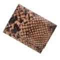 極小財布 ピッグスエード パイソン ピンク×ブラック ベーシック型小銭入れ BECKER(ベッカー)日本製