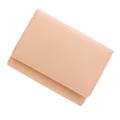極小財布 スムース 牛革 コーラルピンク BECKER(ベッカー) 日本製