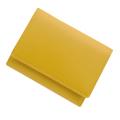 極小財布 スムース 牛革 イエロー BECKER(ベッカー) 日本製