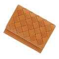 極小財布リンネルmaison別注「メッシュモデル」キャメル BECKER(ベッカー)日本製