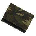 極小財布 ピッグスエード バイカラー 迷彩柄×ブラック ベーシック型小銭入れ BECKER(ベッカー)日本製